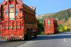 The Colorful Pakistani Truck Art Truck Art Pakistan, Pakistan Art, Romantic One Liners, Truck Paint, Quirky Quotes, Indigenous Art, My Favorite Image, Art Google, Traditional Art