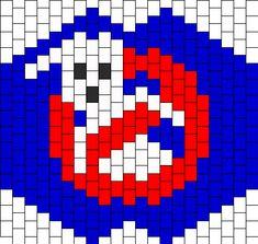 Ghostbusters mask bead pattern