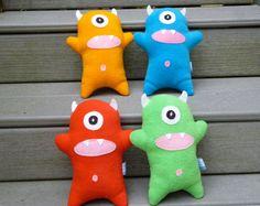 Pick Your Color Custom Stuffed Monster by FranconiaRidgeStudio, $12.00