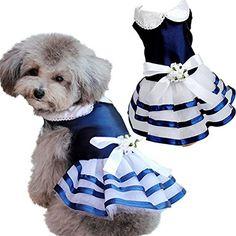 Dog Tutu http://cooldogcostumes.com/product/hot-cute-puppy-pet-dog-tutu-dress-lace-skirt-cat-princess-dress-small-dog-wedding-party-dress-clothes/