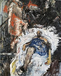 """Susanna Heller  <em>Bill in the Hospital, May</em> 2010 Courtesy the artist and Olga Korper Gallery"""" style=""""border: none; clear: both;"""" /> <td> </tr> <tr> <td> <p class="""