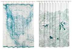 ModCloth Shower Curtains