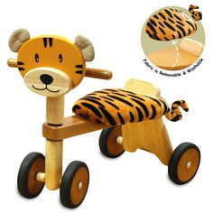 26 Ideas Diy Wood Toys For Girls Toddlers Wooden Ride On Toys, Wood Toys, Retro Roller, Diy Holz, Seat Pads, Baby Kind, Toddler Toys, Toys For Girls, Diy For Kids