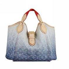 LV Denim Sunbeam M40414 Top Handles