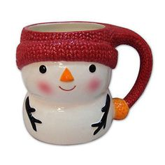 St. Nicholas Square® North Pole Snowman 18-oz. Mug