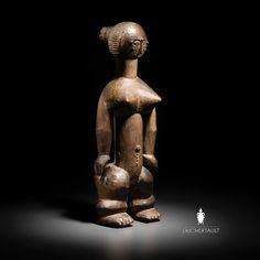 Attié -Côte d'ivoire cm- Provenance : Galerie Monbrison -Collection particulière Africa Art, West Africa, Art Tribal, African Sculptures, Art Premier, Ivory Coast, Paris, Ivoire, Metal Working