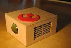 Picture of Wooden Cell Phone Projector! Easy Projects, School Projects, Project Ideas, Phone Projector, Baltic Birch Plywood, Wooden Diy, Woodworking, Projectors, Wood Work