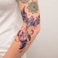 Koray Karagözler > Phoenix #tattoo #ink #art #watercolor