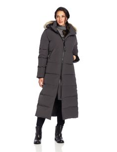 Canada Goose Women's Mystique Parka: I've searched high and low for an extreme weather coat that is extremely warm, functional, comfortable, blocks out wind, long, and stylish. This baby is like a suit of armor...Canadian constructed with the best materials to keep you dry and warm, even in -22F/-30C weather.