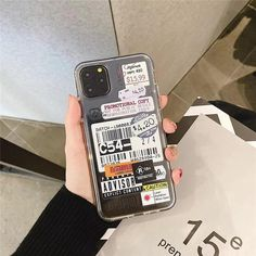 Stamp label barcode Phone Case For iPhone - for iphone 11Pro / XH0135-01