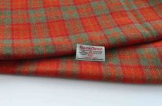 Authentic Harris Tweed Fabric Material For Craft Work 1 x