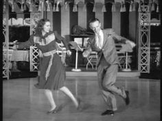Eleanor Powell and Fred Astaire. Tap Dance duet.  Wish my finances were better. i'd be back in tap classes in a heart beat <3