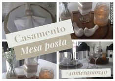 Diva Arteira.: Inspiração mesa posta #casamento #40mesasaos40
