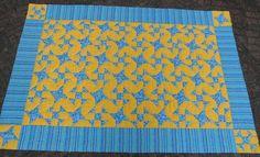 Deze quilt hebben we met onze quiltgroep voor Hospice Noetsele gemaakt.