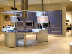 Modern Kitchen Concept  #AdeaEveryday