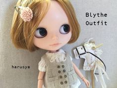 *Blythe outfit*帽子・ギャロップ木馬・洋服set♪*_画像3