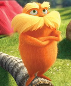 The Lorax, my love! Lana and the Lorax sittin in a Truffula Tree lol Disney And Dreamworks, Disney Pixar, O Lorax, Cute Disney Wallpaper, About Time Movie, Animation Film, Cat Hat, Movies Showing, Cute Drawings