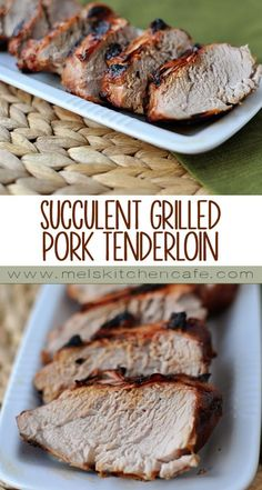 This simple and delicious Succulent Grilled Pork Tenderloin is perfect for the warm summer months ahead.