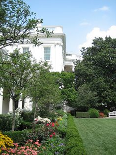 White House Rose Garden by nedrichards, via Flickr