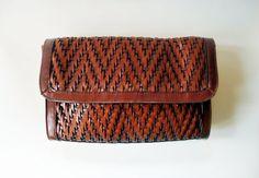 Vintage leather purse #purse, #leather, #vintage