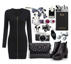SheIn 1 by selmagorath on Polyvore featuring Colette Malouf, Korres, Harrods, PhunkeeTree and Retrò