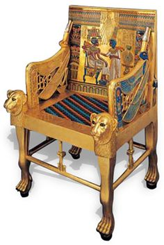 Furniture in Ancient Egypt. (Old Kingdom of Egypt, 2700 - 2200 BCE)