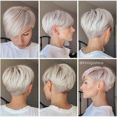 Edgy Short Hair, Short Hair Trends, Short Hair Cuts For Women, Short Hair Styles, Pixie Styles, Haircut For Thick Hair, Cute Hairstyles For Short Hair, Short Pixie Haircuts, Great Hair