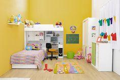 Portal Decoração - Quarto para duas crianças