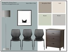 When choosing color for a Veterinarian office there are many things you have to consider. I'd like to share this design I did for a virtual client I'm currently working with in Arkansas…
