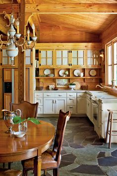 Rustic Shiplap Kitchen | When it comes to adding cottage appeal to a home, few elements hold a candle to the power of shiplap. Beloved for its rustic charm and natural look, shiplap is a classic no matter whether it's painted, stained, or au natural. Take a look through our collection for inspiration on how to introduce this timeless look in your home.