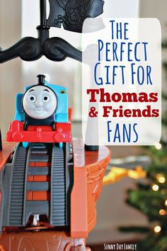 Little Thomas & Friends fans will LOVE this new Trackmaster set and DVD - watch Thomas rescue lost treasure with the help of his friends! A perfect holiday gift idea for the little train lover on your list. #ThomasandFriends [ad]