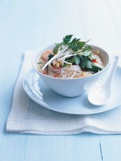 Vegetable laksa: Try the laksa paste recipe in modern classics (can also be found here: https://www.donnahay.com.au/recipes/sauces-and-condiments/laksa-paste)