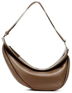The Row Large Slouchy Banana shoulder bag The Row, Banana, Shoulder Bag, Leather, Stuff To Buy, Bags, Collection, Products, Handbags