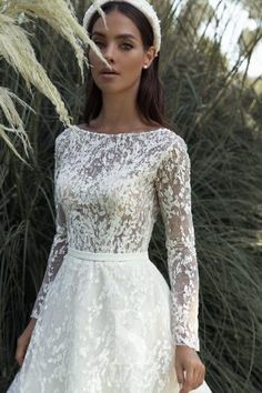 Luce Sposa 2020 Fall Bridal Collection – The FashionBrides White Wedding Dresses, Bridal Dresses, Wedding Gowns, Bridal Looks, Bridal Style, Bridesmaid Outfit, Bridesmaids, Wedding Dress Gallery, Maid Dress