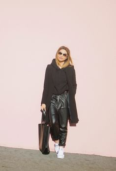 30 Outfits That'll Make You Want a Pair of Leather Pants for Fall | StyleCaster