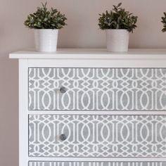 MOROCCAN TRELLIS Wall Furniture  Craft by DizzyDuckDesignsUK