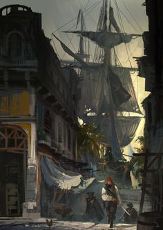 """Assassin's Creed IV: Black Flag"" concept art (Various Artists)"