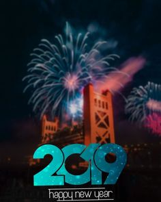 29 Best Happy New Year 2019 Editing Background Images