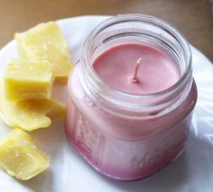 How to make a new candle from your old candles. Don't waste perfectly good wax that is leftover after a candle's wick is used up.