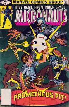 Micronauts comic books feature a group of characters based on the Micronauts toyline. The title was published by Marvel Comics, Image Comics, and Devil's Due Publishing. Their first comic appearance was in Micronauts #1 (Marvel, Jan. 1979) with characterizations created by Bill Mantlo and Michael Golden.
