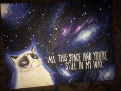 Grumpy Cat Canvas