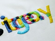 hand embroidered cotton thread on cotton                                                                                                                                                                                 More
