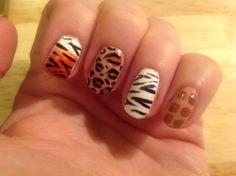 Safari nails!... a fab cutepolish design