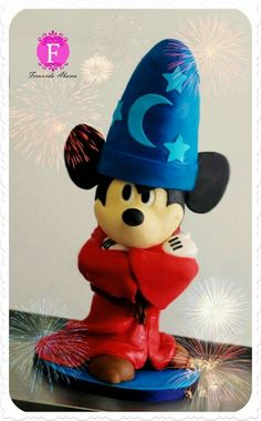 Wizard Mickey Topper