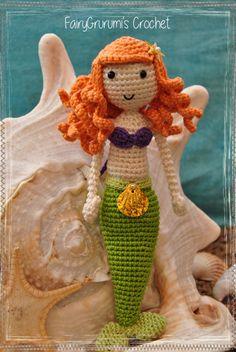 Amigurumi - Ariel princesse Disney - Tuto Rabbiz Design