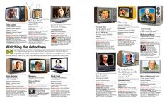 Delayed Gratification - TV DETECTIVES INFOGRAPHIC