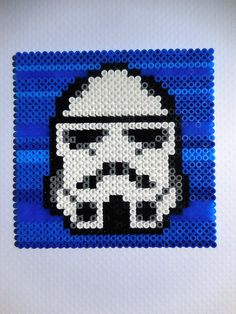 Stormtrooper Star Wars Hama Beads by TCAshop