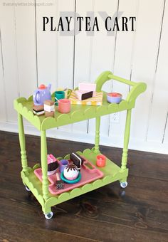 diy kids play tea ca