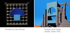 Arata Isozaki and his jewelleries – Star architects and their Jewelleries - blog post by Vero Lazar, Japan, Brooch