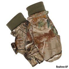 dbf44aa88591b Scent-Lok Mens TimberFleece Pop-Top Glove-704240 - Gander Mountain Duck  Hunting